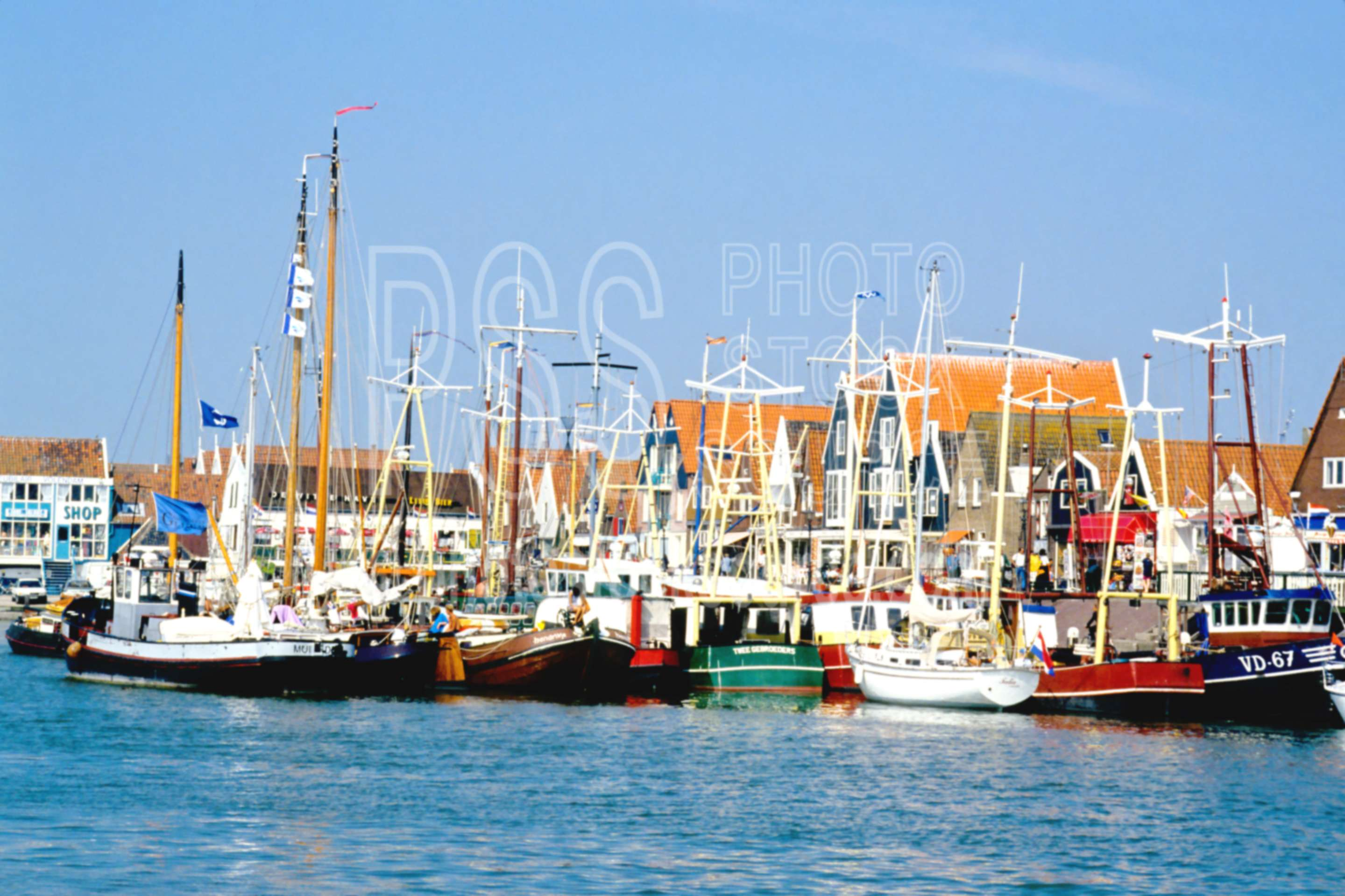 Boats in the Harbor,europe,harbor,holland,boats