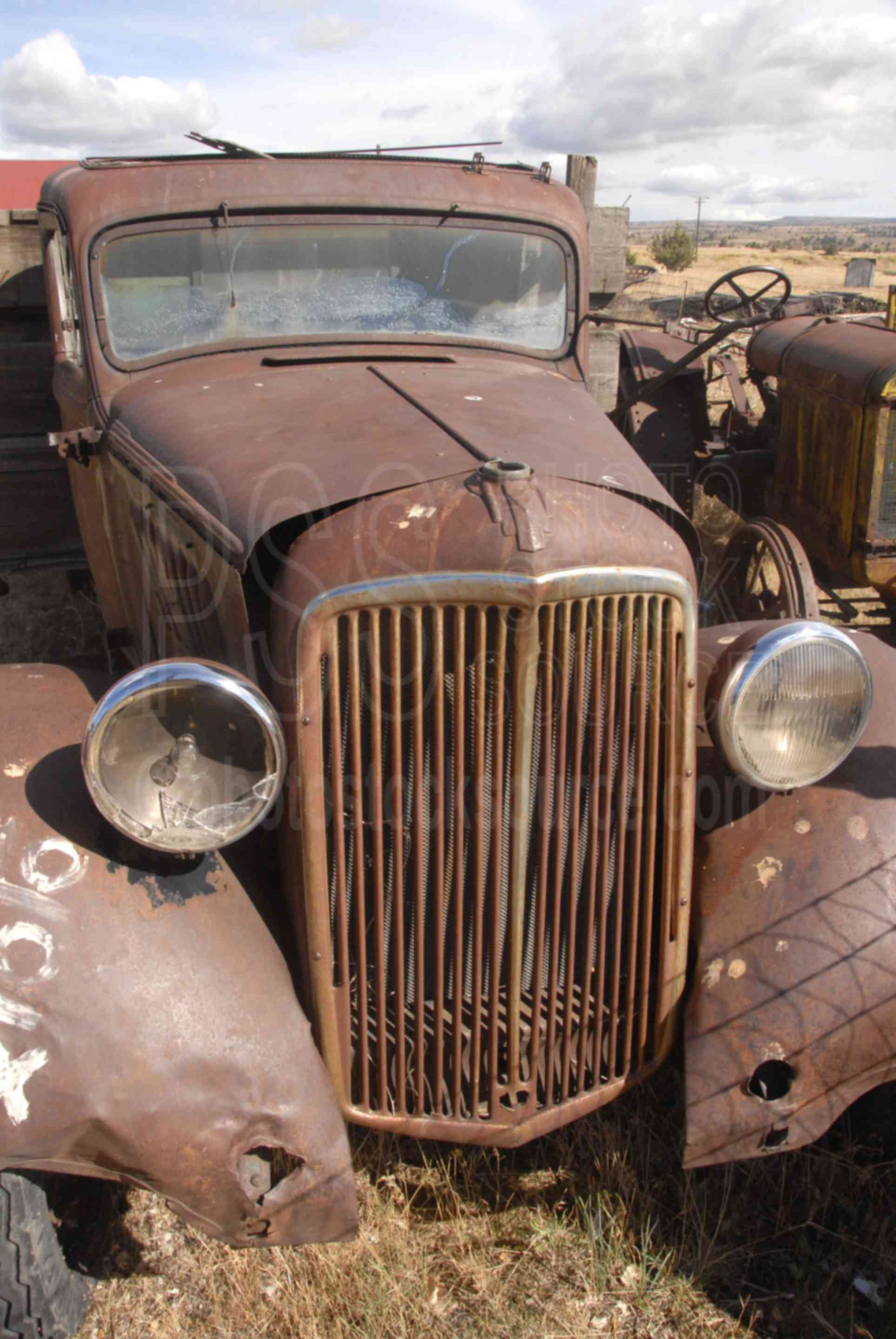 Photo of Old Rusty Truck by Photo Stock Source trucks, Shaniko ...