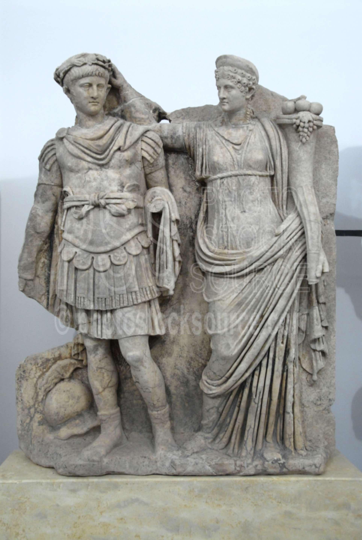 Nero Statue Enl... Emperor Nero Statue