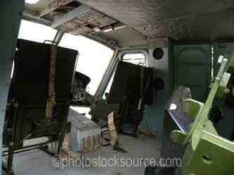 Huey Helicopter Interior
