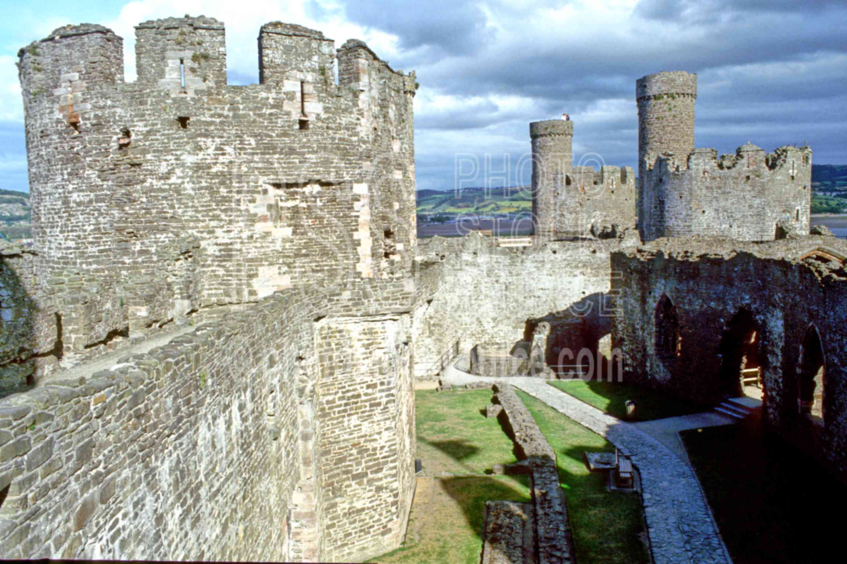 Conwy Castle,castle,europe,ramparts,architecture,castles